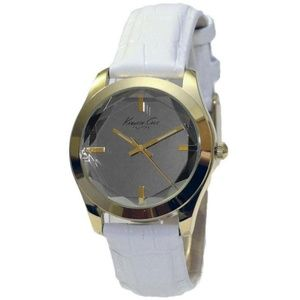 Kenneth Cole KCW2001 Women's White Leather Band